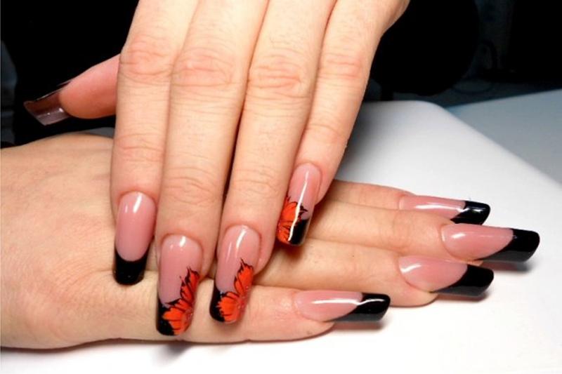 Украинский дизайн ногтей фото